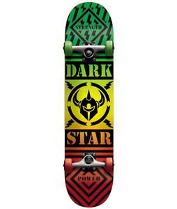 Darkstar Blunt FP Skateboard Complete Rasta 8.0in