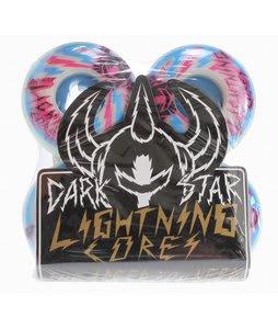 Darkstar Bolt Speed + Lightning Core Skateboard Wheels Pink/Blue 52mm