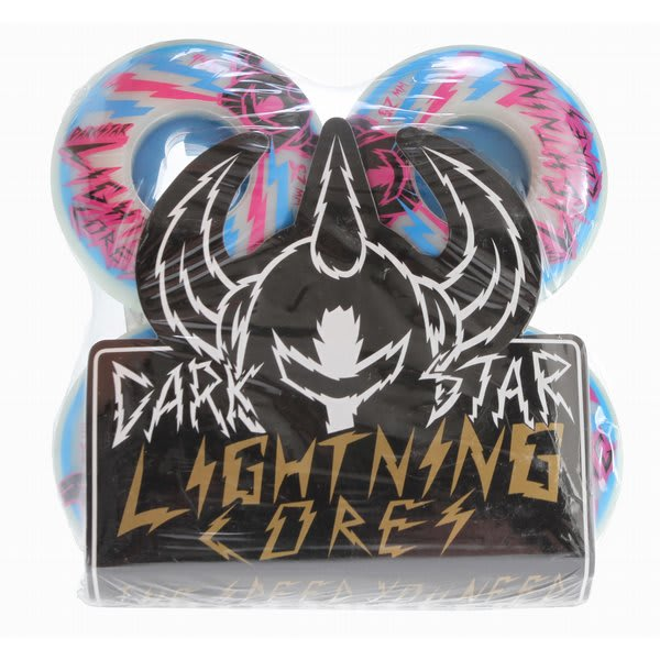 Darkstar Bolt Speed + Lightning Core Skateboard Wheels