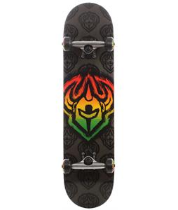 Darkstar Brush FP Skateboard Complete Rasta