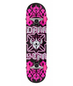 Darkstar Cross Skateboard Complete Pink