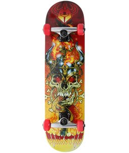 Darkstar Force Skateboard Complete Red 7.8