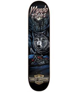 Darkstar Harley Davidson Pro Manolo Vintage Skateboard Deck