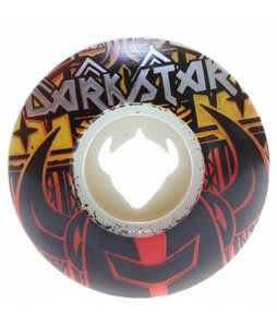 Darkstar Knight Catcher Master Skateboard Wheels White 54mm