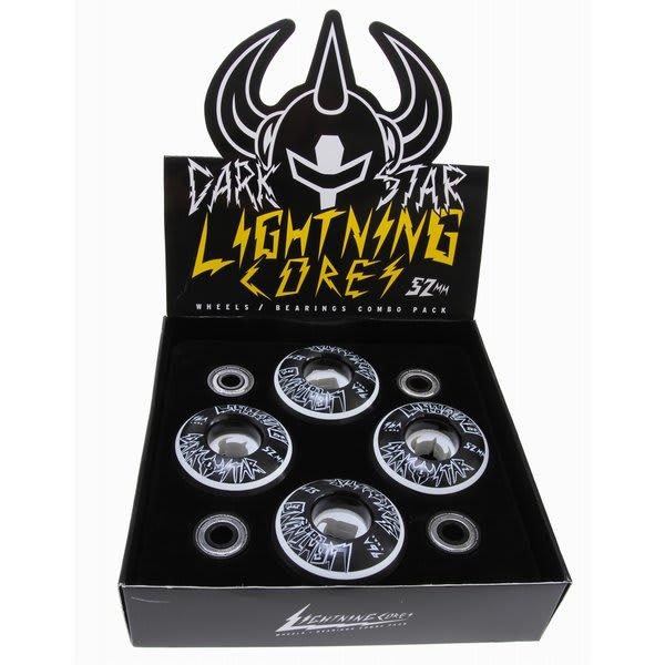 Darkstar Lc Wheel Bearing Combo White Black