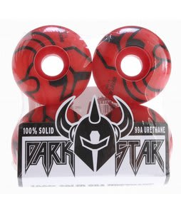 Darkstar Outline Price Knight Skateboard Wheels Red 51mm