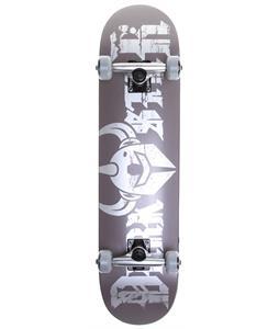 Darkstar Ruin Skateboard Complete Dark Silver