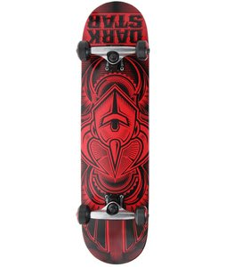 Darkstar Scour Skateboard Complete Red 7.7