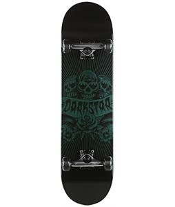 Darkstar Skully Skateboard Complete Blue 8.1in