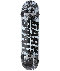 Darkstar Splatter Skateboard Complete Black/White 7.6