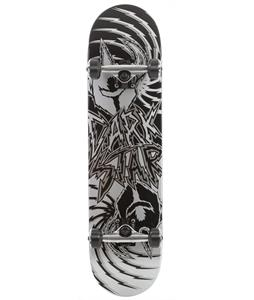 Darkstar Twisted Skateboard Complete Silver