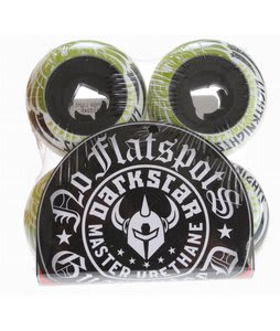 Darkstar Wings Light Night Skateboard Wheels Black/White 52mm