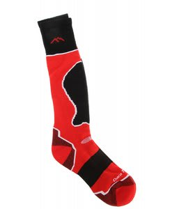 Darn Tough OTC Padded Cushion Socks Rad Red
