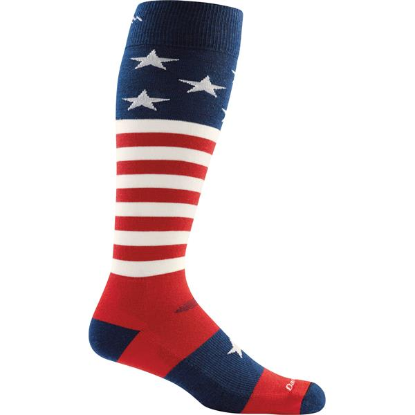 Darn Tough Captain Stripe Over-The-Calf Cushion Socks