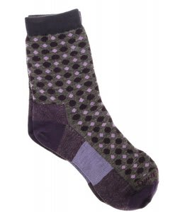Darn Tough Dots Crew Light Socks Taupe