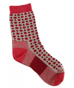 Darn Tough Dots Crew Light Socks Oatmeal