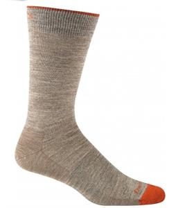Darn Tough Solid Crew Light Socks Light Brown