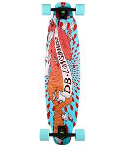 DB Foxtrot Longboard Skateboard Complete 37.75 x 9.5in