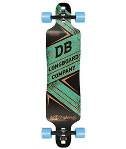 Db Freeride DT Longboard Skateboard Complete 41in x 9.86