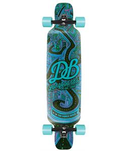 Db Single Speed Longboard Skateboard Complete 40in x 9.5