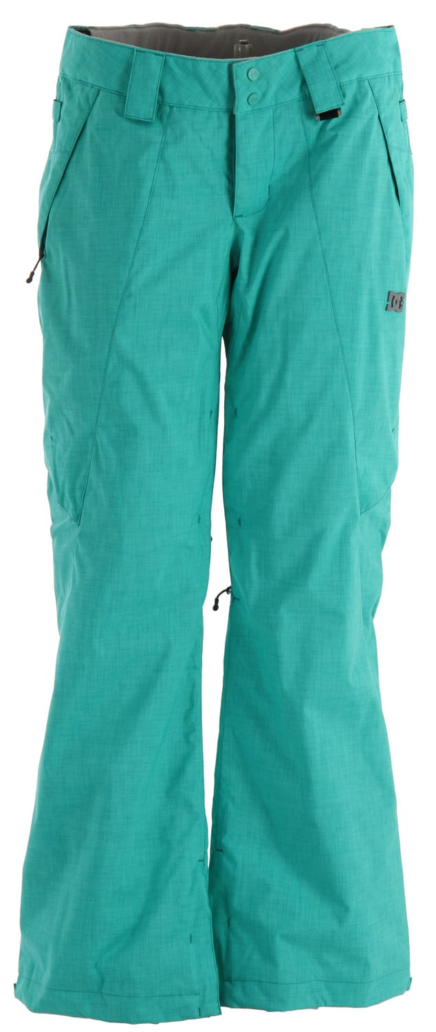 Shop for DC Ace I Snowboard Pants Pool Green - Women's