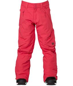 DC Ace Snowboard Pants Bright Rose