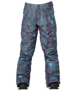 DC Ace Snowboard Pants Dark Gull Grey Monogram