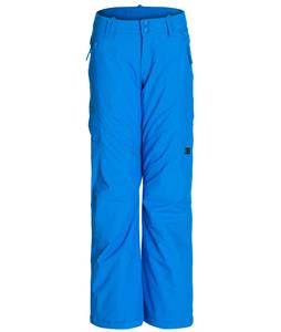 DC Ace K Snowboard Pants Electric Blue Lemonade