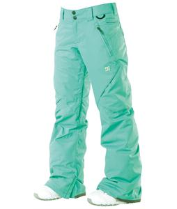 DC Ace Snowboard Pants Arcadia Green