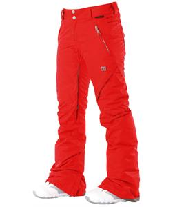 DC Ace S Snowboard Pants Red