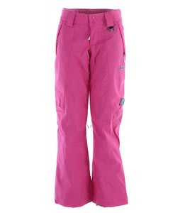 DC Ace Snowboard Pants Crazy Pink