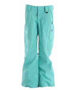 DC Ace Snowboard Pants Pool Green