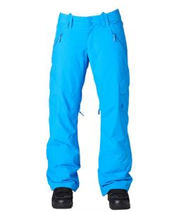 DC Ace Snowboard Pants Electric Blue Lemonade