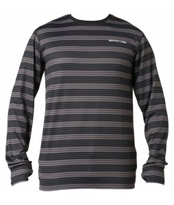 DC Agate Baselayer Top Grey Stripe