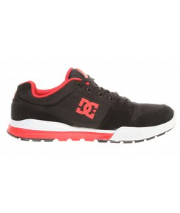 DC Alias Lite Shoes Black/Poppy Red