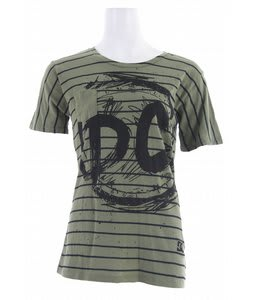 DC All Stripes T-Shirt Olive