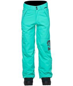 DC Amber Snowboard Pants Arcadia Green