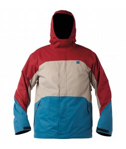 DC Amo Snowboard Jacket Biking Red