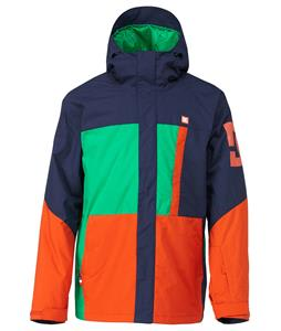 DC Amo Snowboard Jacket Dress Blue