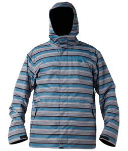 DC Amo Snowboard Jacket Grey Stripe
