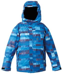 DC Amo Snowboard Jacket Blue Plaid