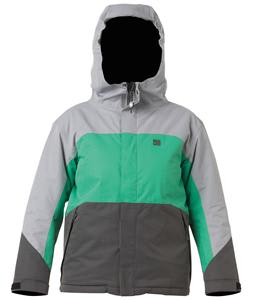 DC Amo Snowboard Jacket Galvanized