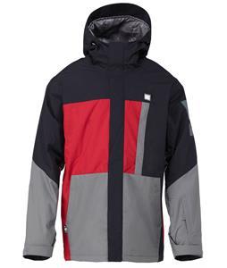 DC Amo Snowboard Jacket Rio Red