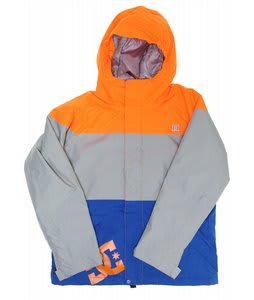 DC Amo K Insulated Snowboard Jacket Hazard/Galvanized