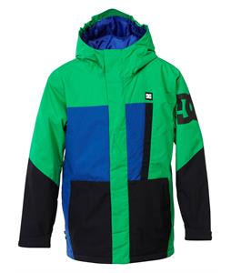 DC Amo K Snowboard Jacket Bright Green