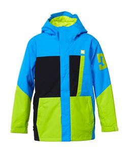 DC Amo K Snowboard Jacket Electric Blue Lemonade