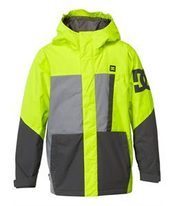 DC Amo K Snowboard Jacket Safety Yellow