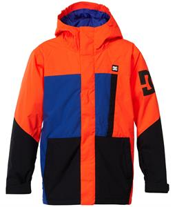 DC Amo K Snowboard Jacket Shocking Orange