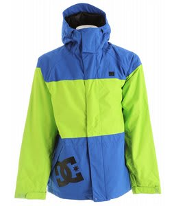 DC Amo Snowboard Jacket Lime Green/Olympian Blue