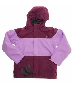 DC Amo K Snowboard Jacket Dark Purple/Orchid
